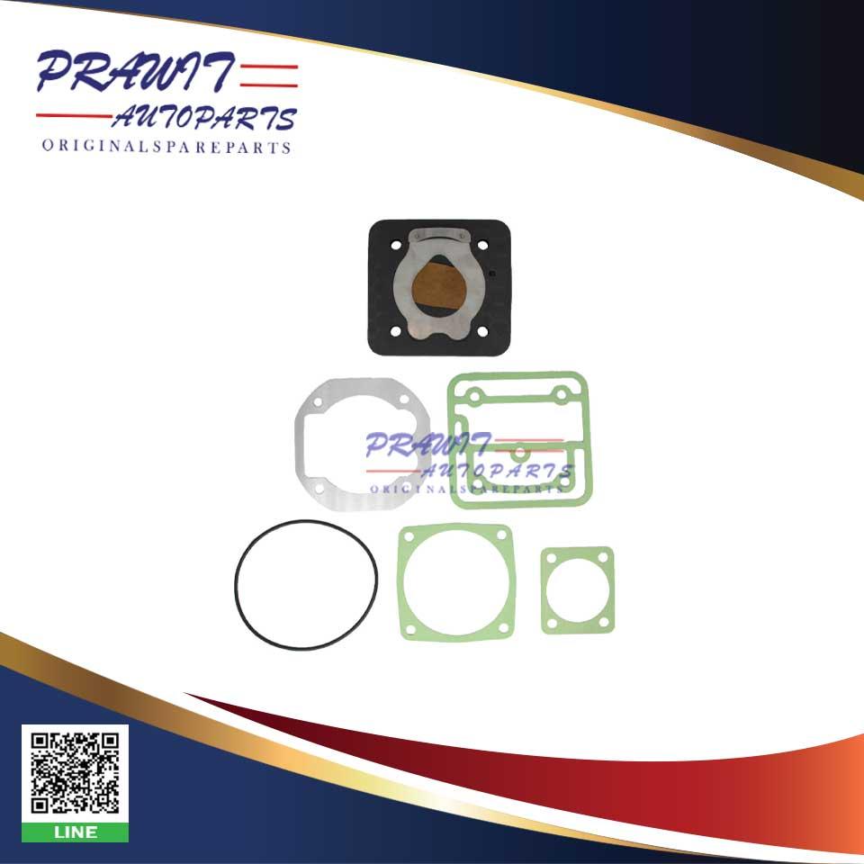 ชุดซ่อมเพลจ+ปะเก็นปั้มลม-D12A-FH12-สูบเดี่ยว-LK3981-LK3986-LK3970